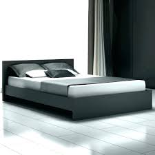 Platform California King Bed Frame Black King Bed Frame Euro White ...
