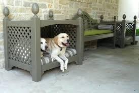 outdoor dog bed custom pet diy