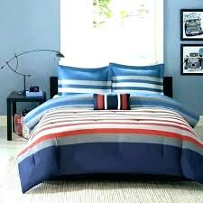 red and white striped quilt 3 piece grey blue rugby stripes comforter set horizontal stripe bedding rugby stripe quilt