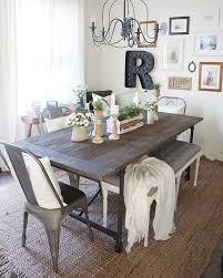 E Marvelous Rustic Dining Table Decor 17 Best Ideas About Farmhouse  2017 On Pinterest