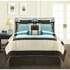 blue white bedding sets white brown and blue turquoise comforter sets with  brown bed and bedroom . blue white bedding ...