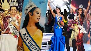 the gowns of the filipinas who ve won miss universe make up the colors of