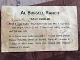 al bussell peach cobbler
