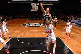 Jarrett Allen threw down a dunk that ...