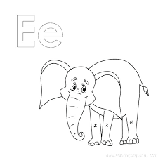 Baby Elephant Coloring Page Mislatinasclub