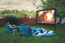 Outdoor Theater Backyard Fun Ideas For Artificial Turf The