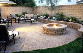 Backyard Paver Designs Fascinating Backyard Paver Patio Ideas Backyard Ideas Medium Size Backyard Patio