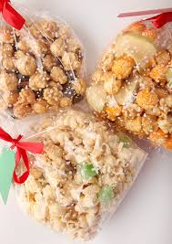 how to doctor up packaged flavored popcorn into a fun mix great homemade holiday gift