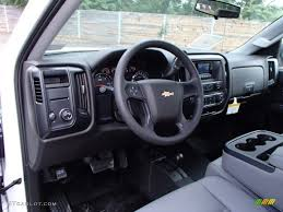 Jet Black/Dark Ash Interior 2014 Chevrolet Silverado 1500 WT ...