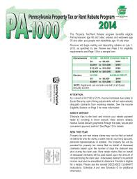 pa1000 form 2015 pa1000 fill online printable fillable blank pdffiller