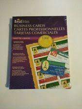 Z2c Royal Brites 1000 Matte Business Cards Printer Paper Ink Jet