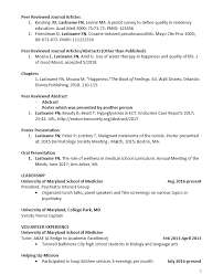 CV Preparation Tips University Of Maryland School Of Medicine Classy Should I Include High School Achievements On My Resume