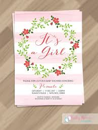 Free Downloadable Wedding Invitation Templates Unique Free PDF Template Baby Girl Invitation Template Baby Shower
