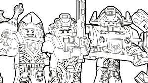 Klaar Voor De Strijd Kleurplaten Lego Nexo Knights Legocom Nl