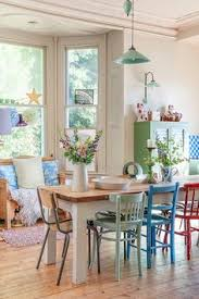 vine cote dining room someday i d like to have dining chairs each with a diffe color and style
