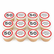 Personalised Birthday Cupcakes For All Ages Bakerdays