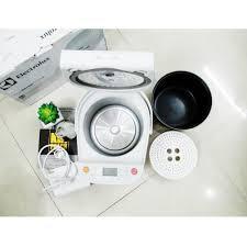 Bán nồi cơm điện tử Electrolux (Thụy Điển) 1.2 lít ERC6503W trắng (mới) -  chodocu.com