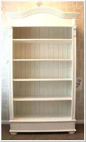 enchanting cottage style bookcase bookcase cottage style bathroom shelves