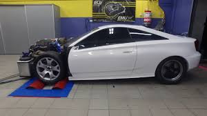 Toyota Celica with a turbocharged 3.5 L 2GR-FE V6 | Engine Swaps ...