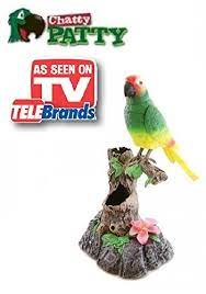 Buy Chatty Patty - Electronic Talking Repeating Parrot Parakeet Bird - As  Seen on TV in Cheap Price on Alibaba.com