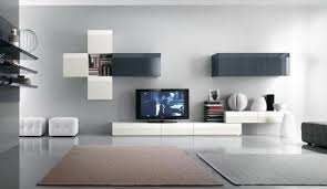 Small Picture White TV and Books Cabinet big room inspiration Pinterest