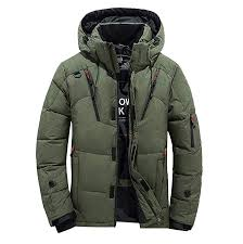 Amazon Com Mens Trench Coat Men Boys Warm Hooded Winter