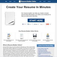 Free Resume Biulder Free Resume Example And Writing Download