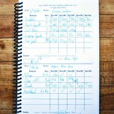 Work Out Journal Weightlifting Journal