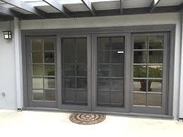 retractable screen door kit high quality sliding glass doors screen for sliding glass door