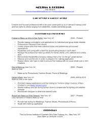 Makeup Artist Job Description Template Sample Resume Www Omoalata