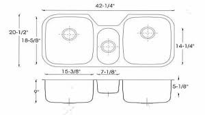 kitchen sink dimensions home designs standard size average for sizes