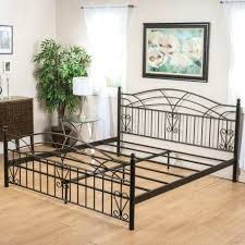 Wrought Iron Bed Frame Queen Medium Size Of Bed Wrought Iron Bed ...