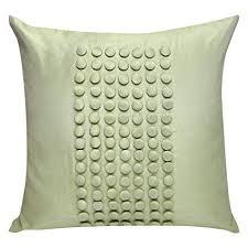 green pillow shams. Delighful Pillow Green Pillow Shams Textured Euro Sham Cover Pale Green Button Panel  26X26 And Shams A