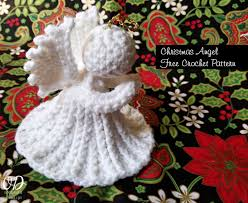 Christmas Angel Free Crochet Pattern • Oombawka Design Crochet