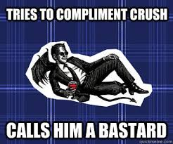 Romantically Inept Crowley memes | quickmeme via Relatably.com