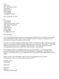 Nurse Cover Letter Template – Armni.co