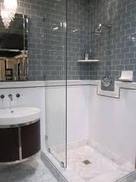 carrara marble subway tile shower full size of ideas white bathroom design grey and black