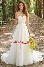 a line wedding dresses with straps. 2016 a line wedding dresses sweetheart chiffon with applique and beads straps
