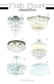 semi flush mount crystal chandeliers chandelier ceiling jolie chrome drum shade