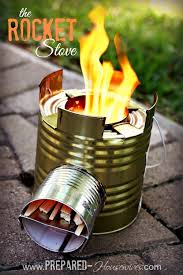 build a rocket stove out of a 10 can one of the most efficient