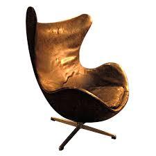 vintage arne jacobsen egg chair denmark c arne jacobsen egg chair leather black