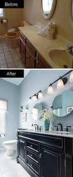 Take your bathroom from dull and drab to bold and beautiful. A striking  vanity and