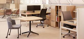 Open Office Layout Design Gorgeous Dividends Horizon Knoll