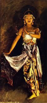 a javanese dancer 1 john singer sargent oil painting