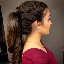 Half Ponytail Hairstyles Soft Ponytail Hairstyles Half Ponytail Hairstyles For Prom