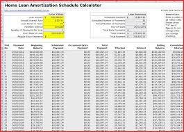 Amortization Spreadsheet Excel Calculator Images Loan Car Luxury