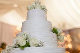 5 All White Wedding Cakes Southern Bride