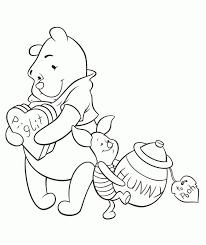 Kleurplaat Winnie De Pooh 13 Pooh Pinterest Kleurplaat
