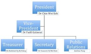 Association Organizational Chart Baja Organizational Chart Brunei Association Of Japan Alumni
