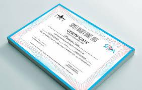 Custom Personalized Online Certificate Maker From Printstop